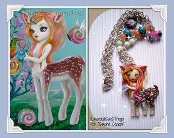 Handmade bijoux neaklace. Simona Candini art