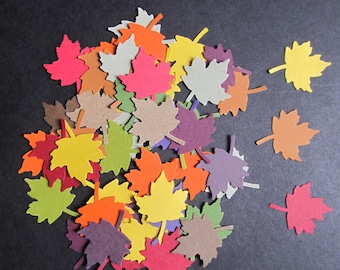 50  Maple Leaf Martha Stewart Punches in a Variety of Fall Colours