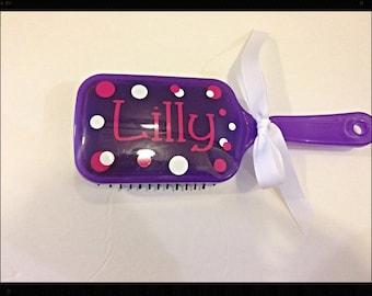 Personalized Paddle Hairbrush