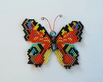 Peacock Butterfly PDF Pattern and Tutorial