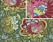 1 Yard Gothic Rose - Burgundy from the Belle Collection by Amy Butler