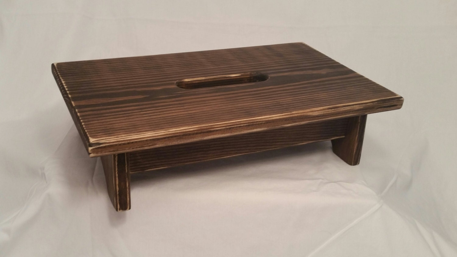 #644838 Small Pine Wood Step Stool With Handle Hole By OutOnaLimbWoodGifts with 1500x843 px of Best Small Wooden Stools 8431500 image @ avoidforclosure.info