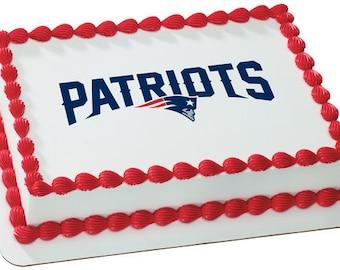 Patriots cupcake Etsy