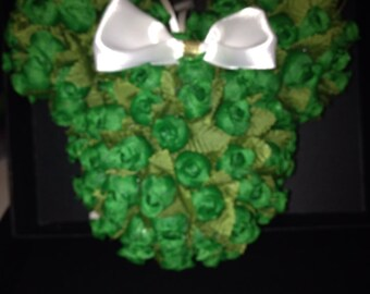 Disney Minnie Mouse themed Green Ornament