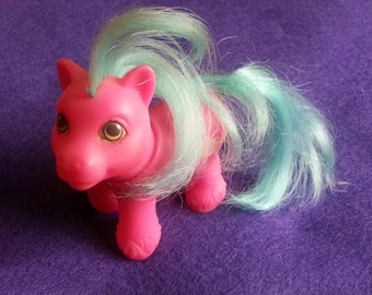 My Little Pony Whirly Twirly - little brother vintage g1