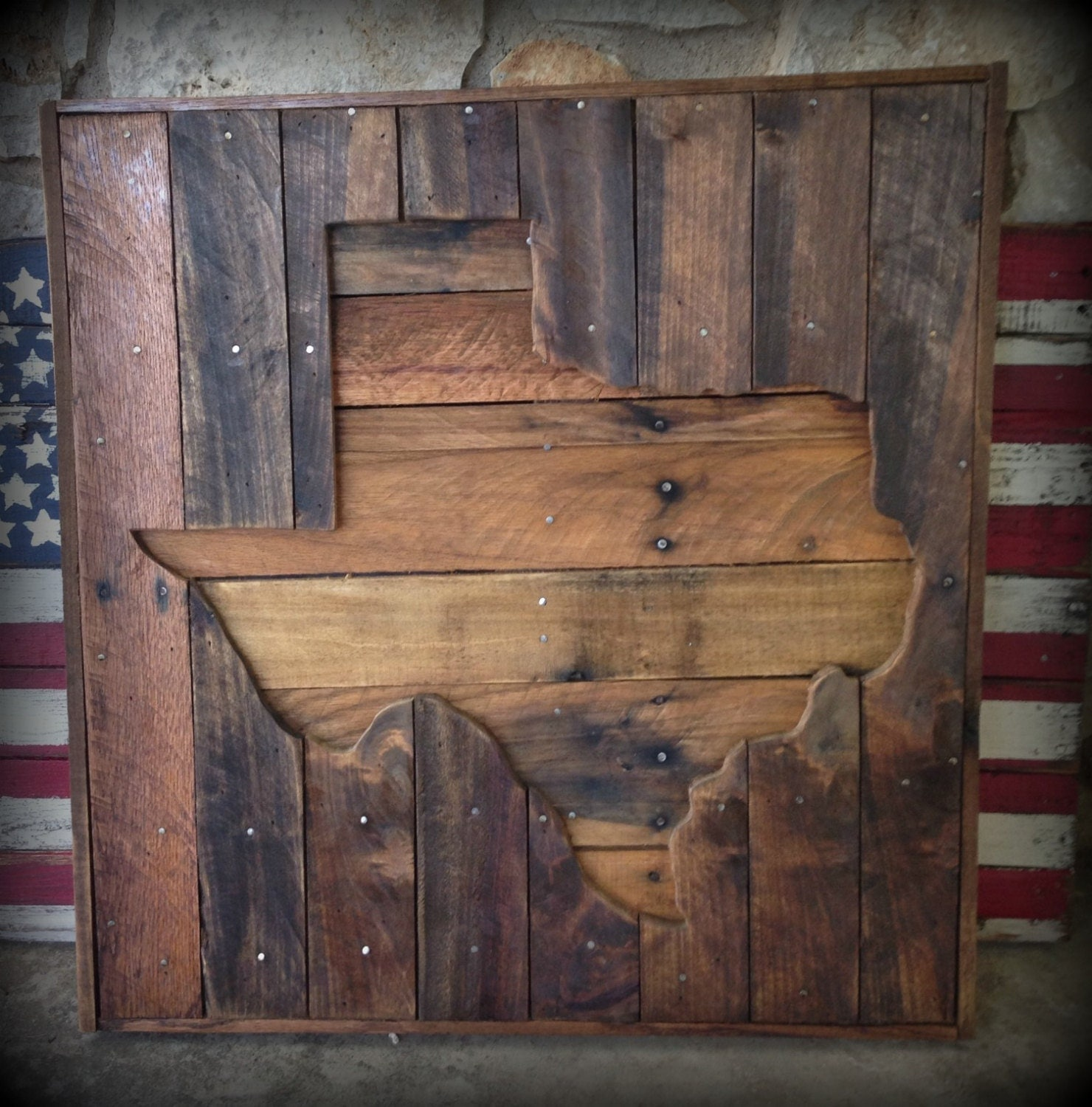 Recycled Pallet Ideas: Wood Texas Pallet Sign Wall Hangings Pallet Signage Texas