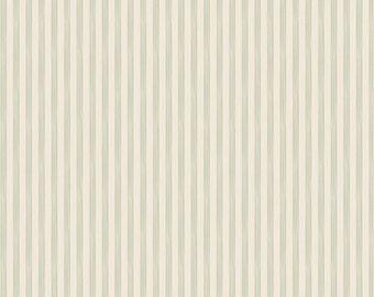 TILDA - Rough Stripe Light Green  - 1/2 yard