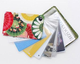 Swivel Credit Card Holder| Oriental Fan Wallet| Business Card Holder for Women| Mei