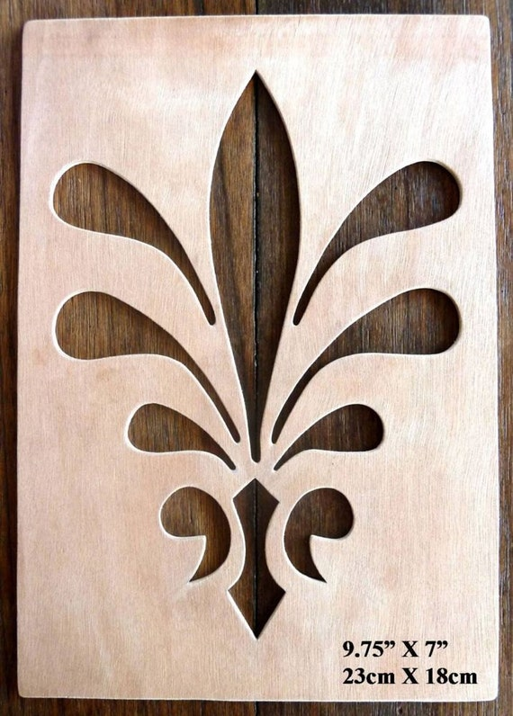 Beautiful hand crafted mdf 39 decorative floral design 39 for Decorative mdf