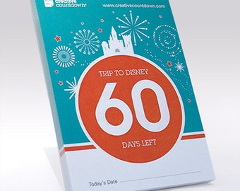 Disney Countdown, a 60-Day Tear-off Disney Countdown Calendar