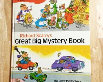 1969 - Richard Scarry's Great Big Mystery Book - Random House