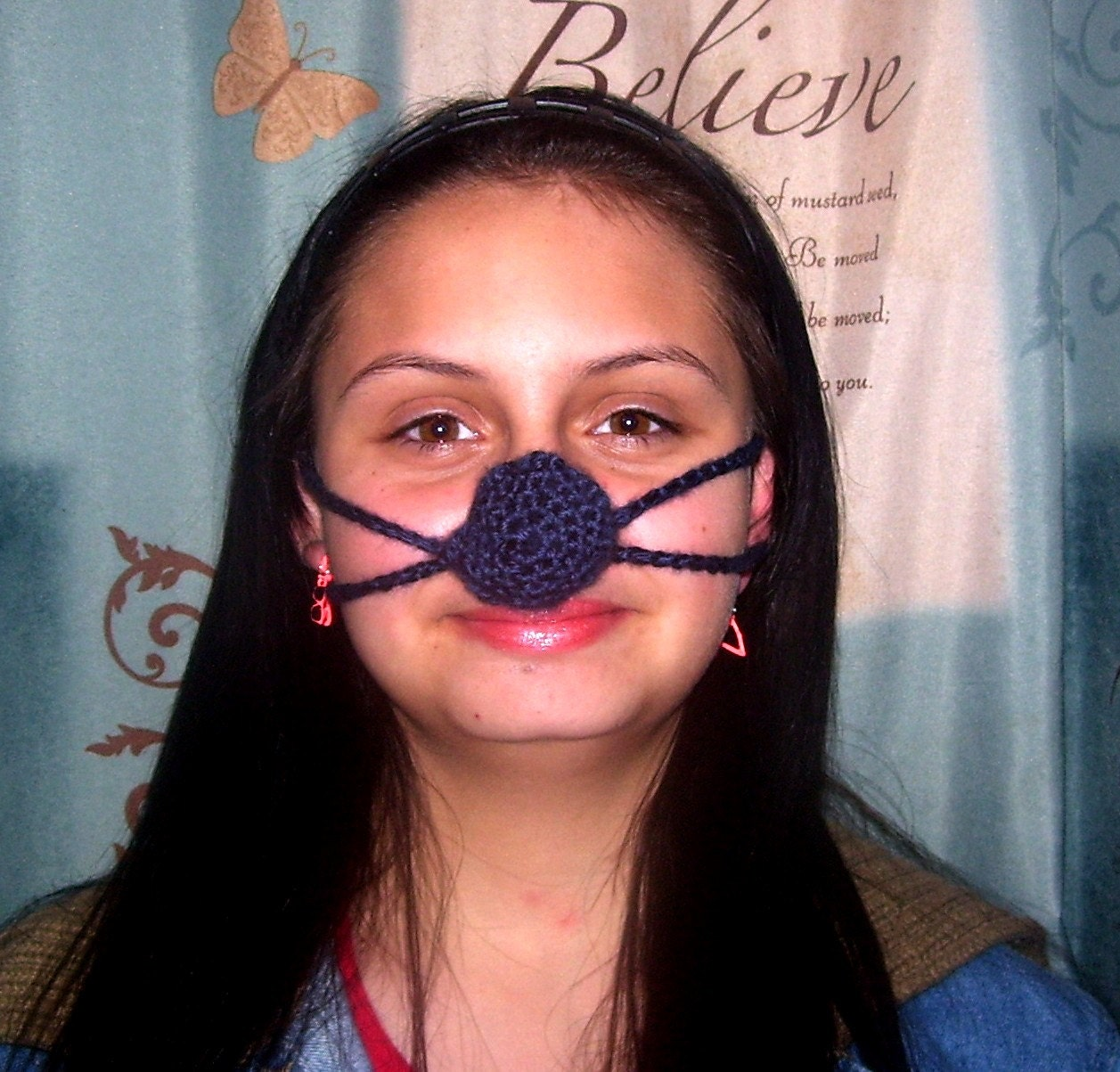 Crochet Nose Warmer : Request a custom order and have something made just for you.
