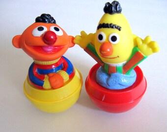 Vintage Sesame Street Large Weebley Roly Poly Toys