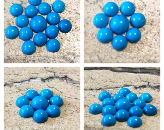 Lot of Sleeping beauty turquoise 100% Natural .