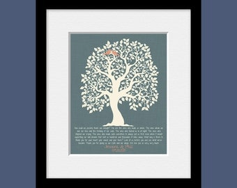 Thank You Gift Print for Parents,  Parent's Thank You Poem, Parent's Wedding Day Gift, Gift for Bride's Parents, Gift for Groom's Parents