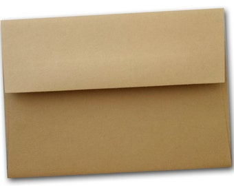 Light Brown A-7 Envelopes 25 pack