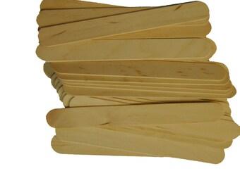 "100 ct 6"" Jumbo Craft Sticks"