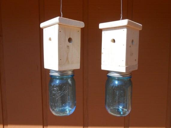 Items Similar To 2 Carpenter Bee Traps Wood Boring Bee