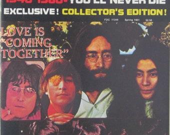 Memorial Issue John Lennon 1940-1980 Magazine
