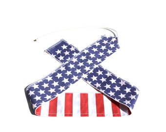 Stars & Stripes USA Flag - Weight Lifting Wrist Wraps