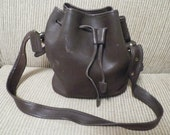 Reserve for Katie Clearance...Rare Authentic Large Bucket COACH Handbag made in Costa Rico