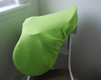 All purpose Saddle Cover LIME GREEN