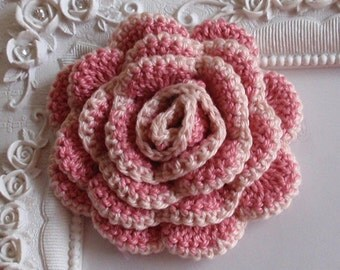 Crochet flower applique CH-022-04