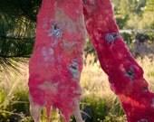 Pink flamingos coral felt...