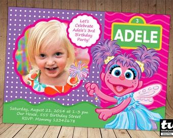 Abby Cadabby Invitation