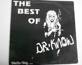 Dr. Know- The Best Of Dr. Know - vinyl record
