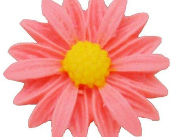 1-Cavity Sunflower Polymer Clay Mold Flexible Silicone Mould For Handmade Soap Candle Candy Cake Fimo Resin Crafts