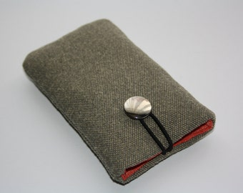 Wool sleeve, iphone 5c case, iphone case, iphone 5s 5s, 4s, 3gs case, iphone 5s, Nokia Lumia 610/eco-friendly
