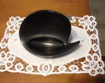 Mid Century Atomic Ceramic Tray / Bowl