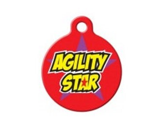 Agility Pet Engraved Pet ID Tag