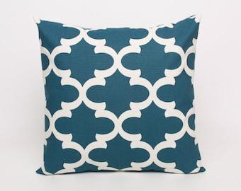Cadet blue pillowsEtsy