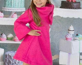 12m-5t Long Sleeve fleece dress
