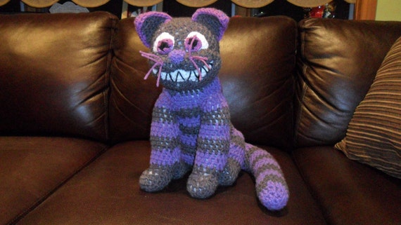 items similar to cheshire cat doll on etsy