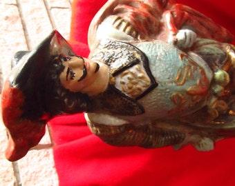 Ceramic Musketeer Statue