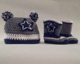 Dallas Cowboys Hat and Boots