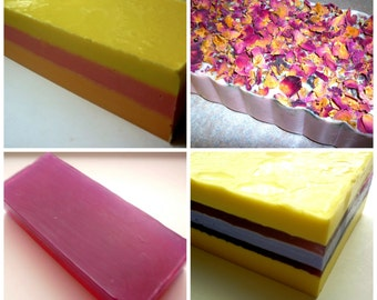 12 Assorted 3LB Handmade Soap Loaves, Wholesale Soap Loaves, Vegan Soap