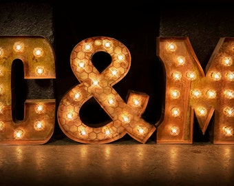 3 letter package marquee letters marquee light carnival letter wedding lighted marquee sign marquee initials package thick book font