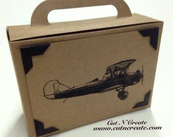 Suitcase Favor Box Suitcase Favor Airplane Suitcase Birthday Favor