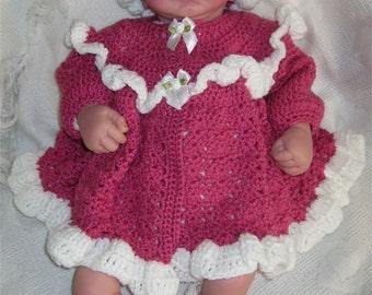 Raspberry Delight - Crochet Pattern