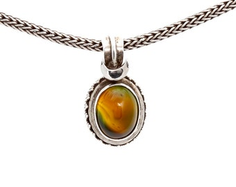 Agate 879 - Pendant - Sterling Silver - Agate