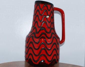 XL West German Floor vase by Scheurich 408 - 40