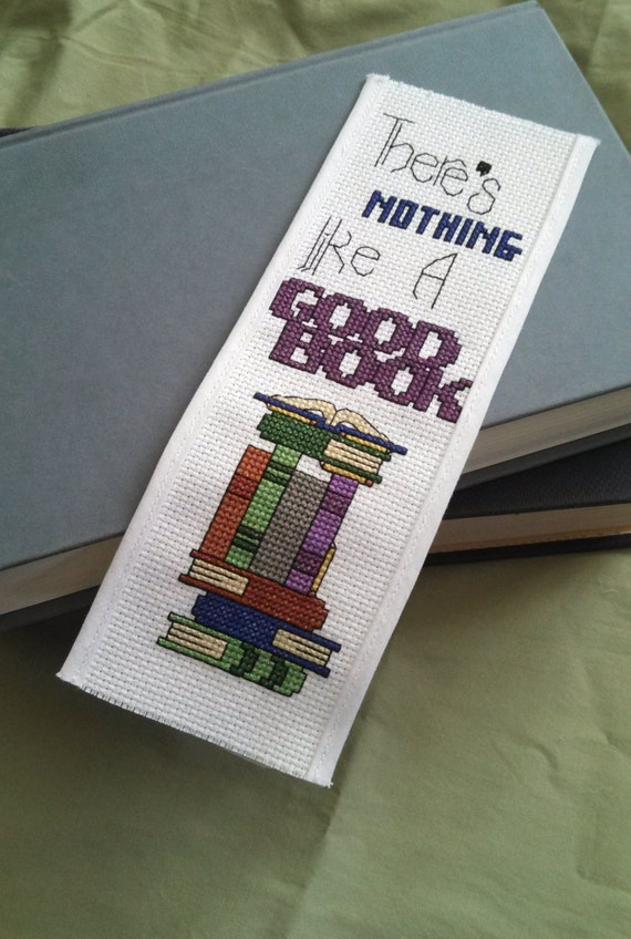 Cross Stitch Pattern Bookmark Nothing Like A Good Book