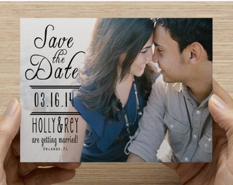 100 Save the Date Postcards