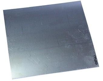 "Nickel Silver Sheet 22ga 6"" x 6"" 0.64mm Thick  (NS22-6)"