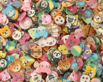 150 Mixed Animal Slices - Over 30 Different Designs