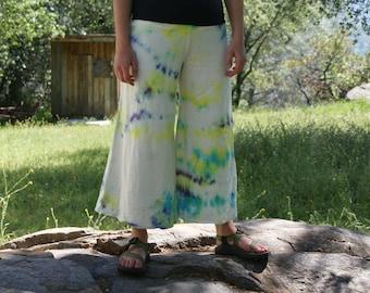 Hemp, Organic Cotton Wide Leg Pant